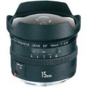 Canon 15mm EF f/2.8 Fisheye Camera Lens