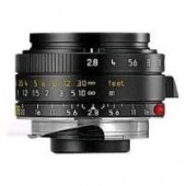 Leica 28mm f/2.8 ASPH M-Elmarit Wide Angle Camera Lens
