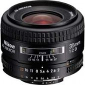 Nikon 35mm f/2D AF Wide-Angle Nikkor Camera Lens