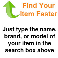 Find your item faster!